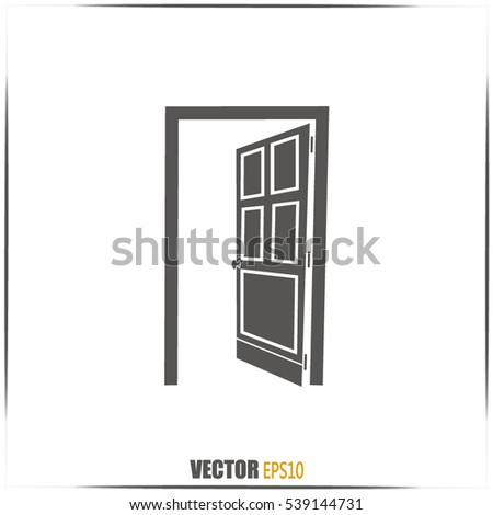 open door vector icon  sc 1 st  Vecteezy & Open Door Vectors - Download Free Vector Art Stock Graphics \u0026 Images