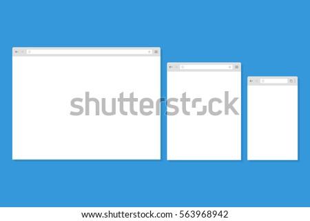 open internet browser window in