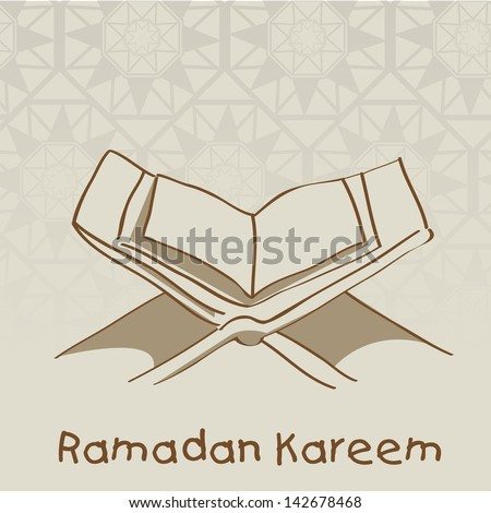open islamic religious holy