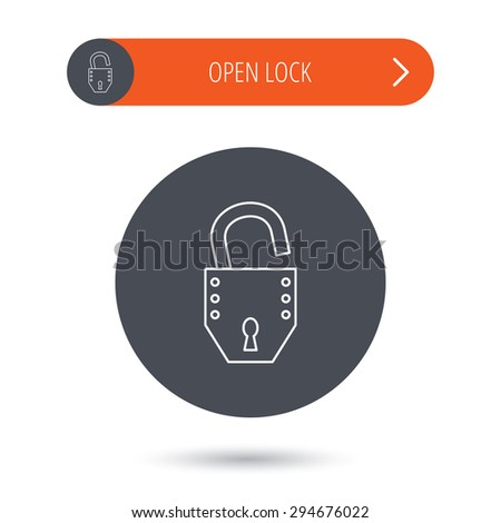 Open Lock Icon Open Lock Icon