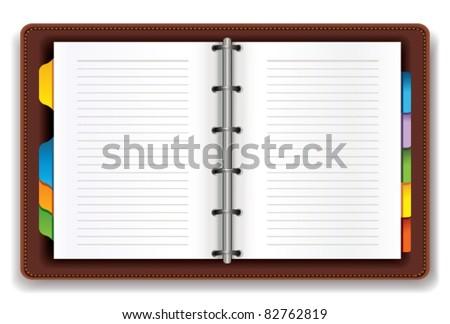 Open personal organizer