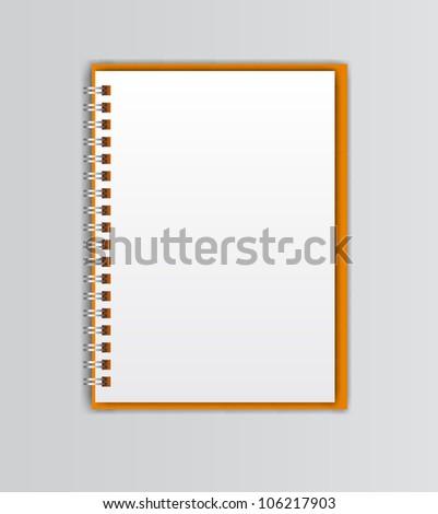 open white notebooks