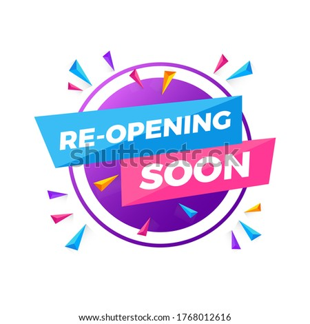 Opening Soon Sign | Reopening Soon | Grand Opening Soon