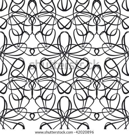 openwork seamless pattern