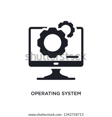 operating system isolated icon