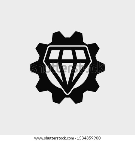Operational excellence icon. New trendy Operational excellence vector illustration symbol.