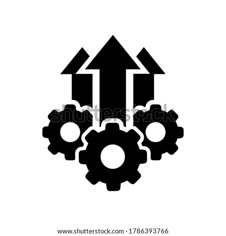 Operational excellence vector icon, production growth illustration sign collection. operation symbol. Stock photo ©