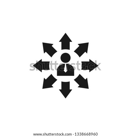 Opportunities icon design template vector isolated illustration
