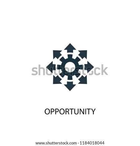 opportunity icon. Simple element illustration. opportunity concept symbol design. Can be used for web and mobile.