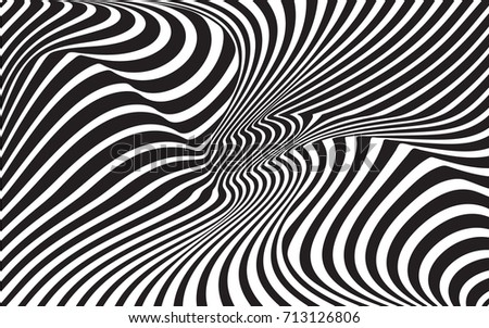 Optical Art Designs : Black and white retro pattern download free vector art stock