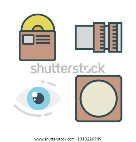 optical icons set. vector set about [ iconsRandom] icons set.