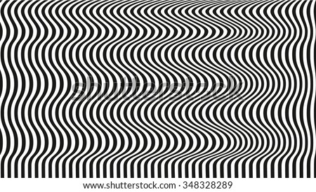 Optical illusion art background black and white desktop wallpaper black lines on white background