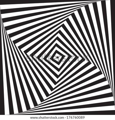 optical illusion art circle