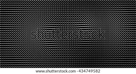 optical illusion black pattern background. eye illusion.