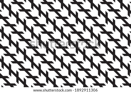 Optical illusion is illusion caused by the visual system and characterized by a visual percept that arguably appears to differ from reality. lines do not seem parallel, but they are actually parallel. Foto stock ©