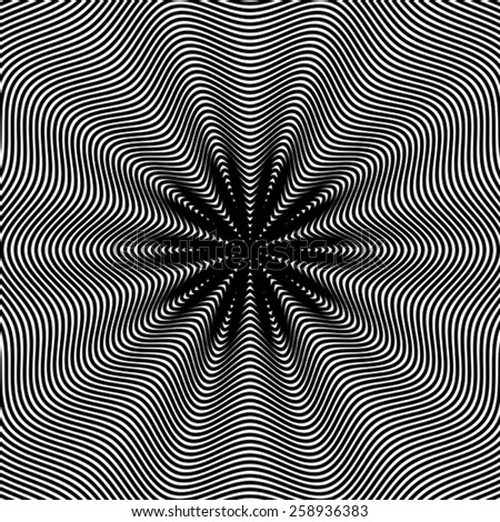 optical illusion  moire