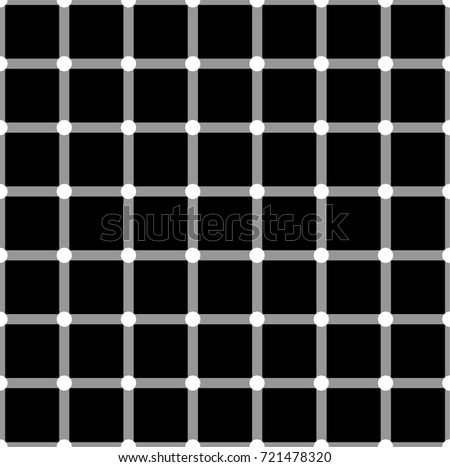optical illusion white circles