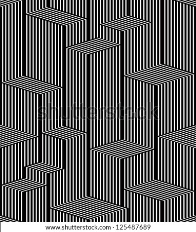 optical lines seamless pattern