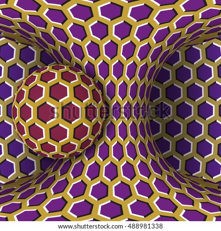 optical motion illusion