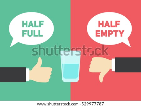 optimism vs pessimism concept