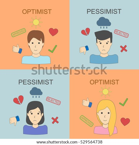 optimist and pessimist two
