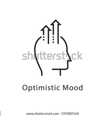 Optimistic Mode Vector Line Icon