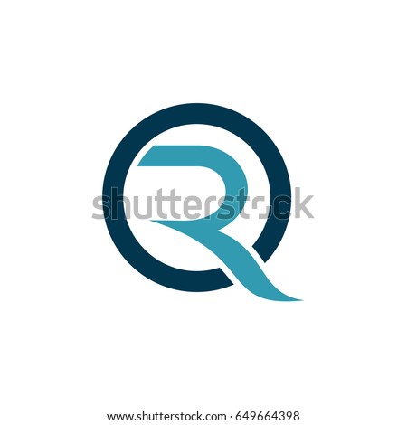 OR Logo, Letter O And Letter R Initial Logo Template Foto stock ©