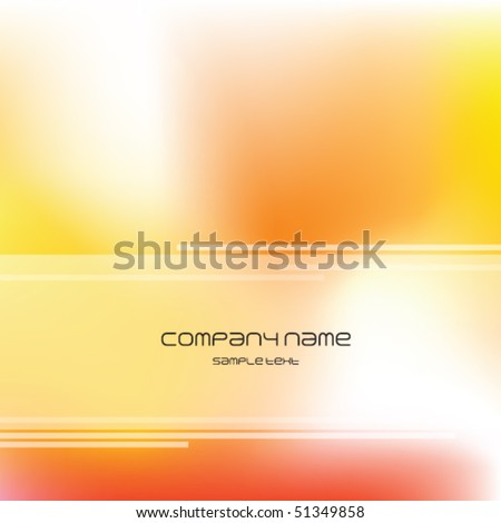 Orange abstract background texture - trendy business template with copy space Contemporary texture