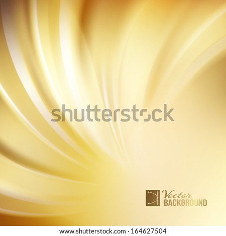 orange abstract swirl vector