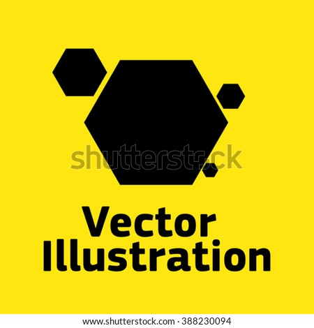 Yellow honey background with hexagonal pattern vector free download - Abstract 3d Hexagon Vector Background 123freevectors