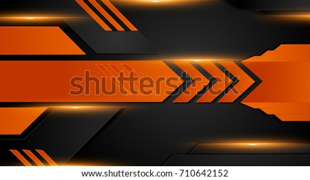 stock-vector-orange-and-black-geometric-abstract-corporate-background-vector