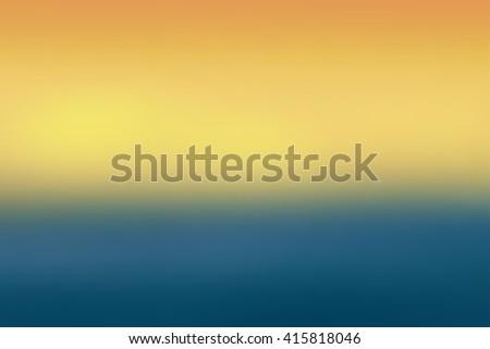 orange and blue colored blurred