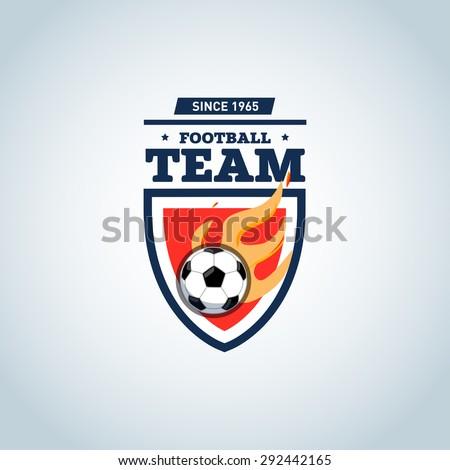 orange and dark blue soccer