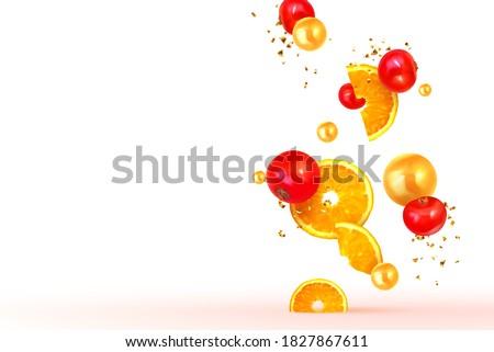 orange and lemon fruit