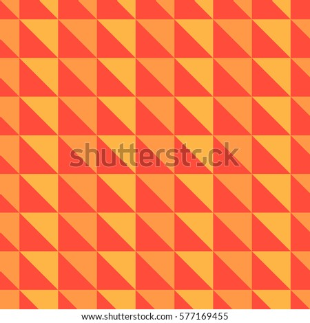 orange and red abstract pattern