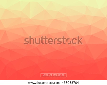 orange and red polygon pattern