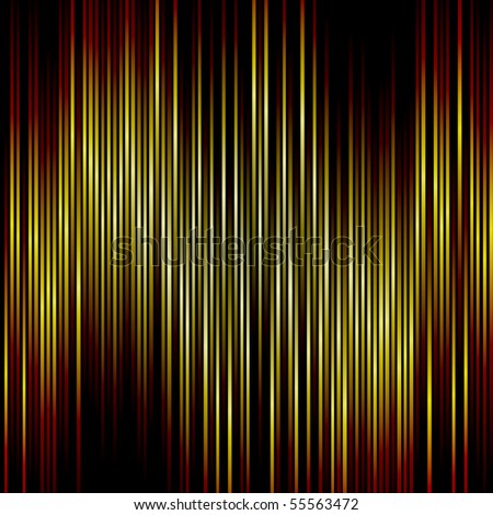 Orange and yellow vertical stripes background.