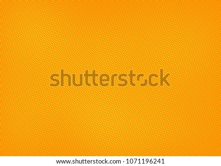 Orange comic pop-art halftone background vector #1071196241