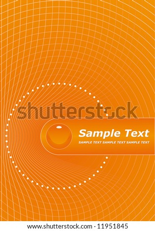 orange cover design