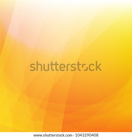 Orange Dynamic Background With Gradient Mesh, Vector Illustration