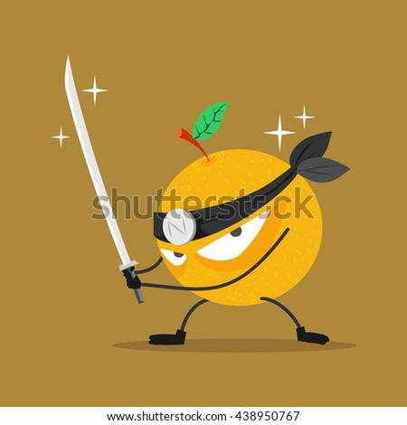 orange fruit fighting club