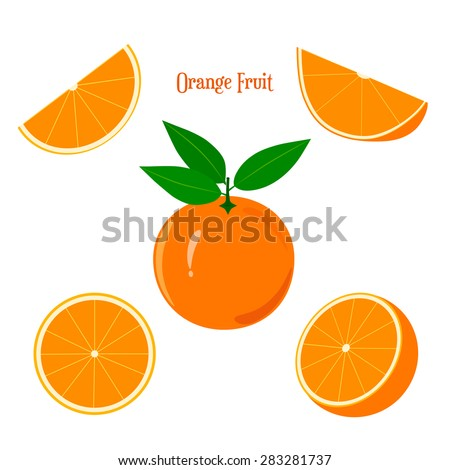 orange fruit orange fruit and