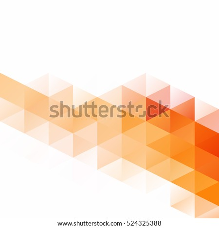 orange grid mosaic background
