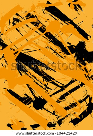 stock-vector-orange-grunge-texture