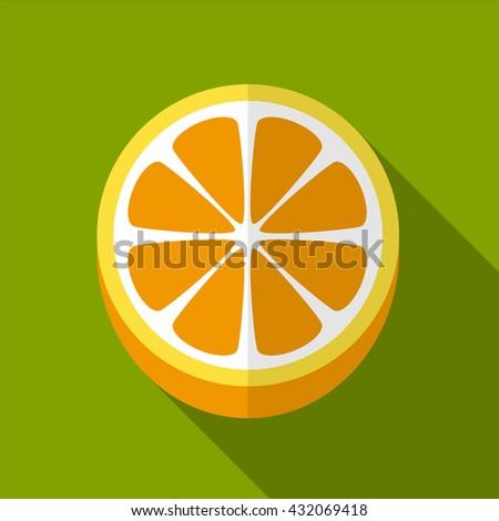 orange icon  orange icon eps10