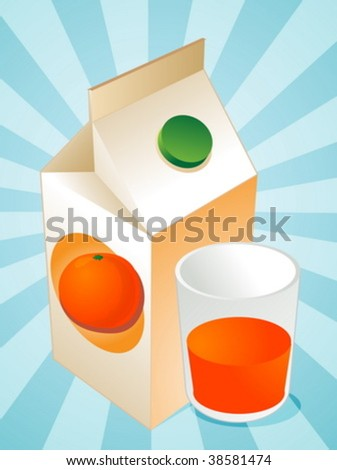 cartons of orange juice. cartons of orange juice. stock