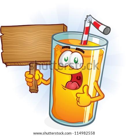 Orange Juice Cartoon Orange Juice Cartoon Character