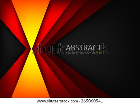 stock-vector-orange-light-angle-hot-tone-color-background-and-red-line-overlap-layer-paper-on-dark-space-for
