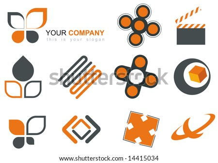 orange logo mix