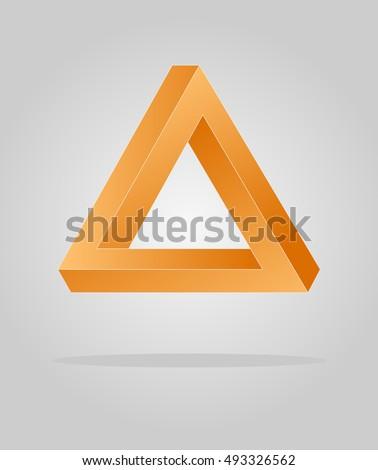orange optical illusion